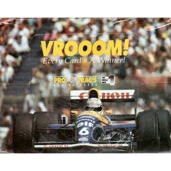 1991 Pro Trac's Vroom Series 1 Racing Box