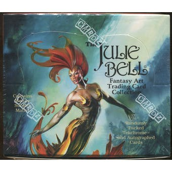 The Julie Bell Fantasy Art Trading Card Collection Box