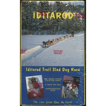 Iditarod Trail Sled Dog Race Collector Cards Box (1992 MotorArt)