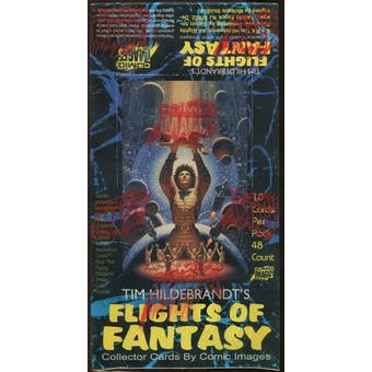 Flights Of Fantasy Collector Cards Box (1994 Comic Images)