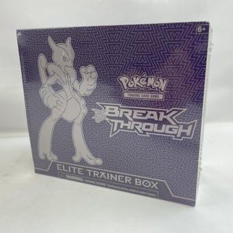 Pokemon XY BREAKthrough Mega Mewtwo X Elite Trainer Box (Purple Box)