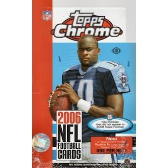 2006 Topps Chrome Football Hobby Box