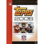 2006 Topps Football Rack Box