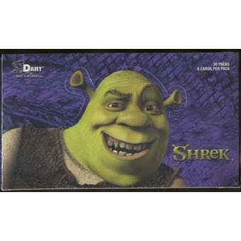 Shrek Trading Cards Box (2001 Dart) (Reed Buy)