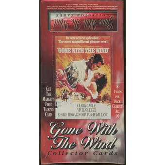 Gone With The Wind Collector Cards Box (1995 Turner)