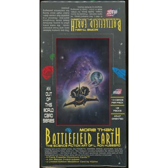 More Than Battlefield Earth Collector Cards Box (1995 Comic Images)
