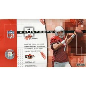 2006 Fleer Hot Prospects Football Hobby Box