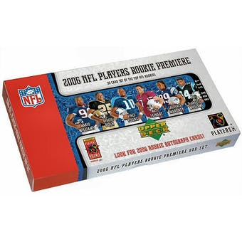 2006 Upper Deck Rookie Premiere Football Hobby Set (Box)