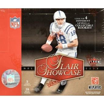 2006 Fleer Flair Showcase Football Hobby Box