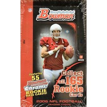 2006 Bowman Football Hobby Box