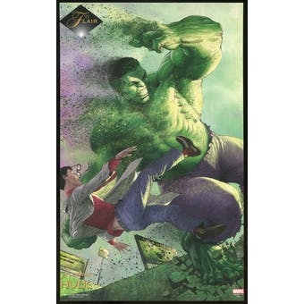 2015 Fleer Retro Marvel 1994 Flair Prints #2 Hulk