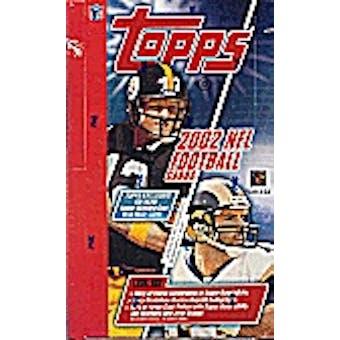 2002 Topps Football Hobby Box
