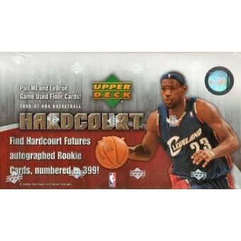 2006/07 Upper Deck Hardcourt Basketball Hobby Box