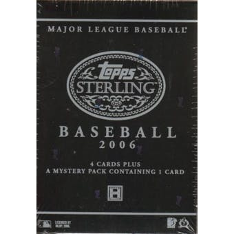 2006 Topps Sterling Baseball Hobby Box
