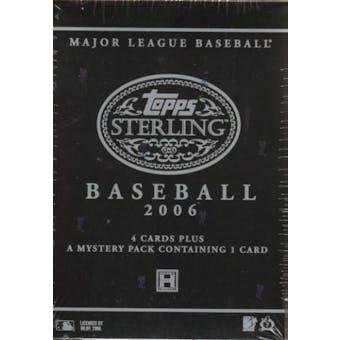 2006 Topps Sterling Baseball Hobby Box