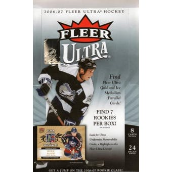 2006/07 Fleer Ultra Hockey Hobby Box (UD)