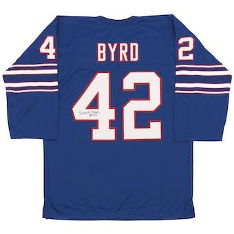 Butch Byrd Autographed Buffalo Bills AFL Football Jersey