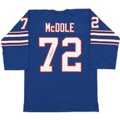 Ron McDole Autographed Buffalo Bills AFL Football Jersey