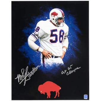 Mike Stratton Autographed Buffalo Bills 11x14 Photo