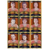 2011/12 ITG Broad Street Boys Gold Complete 100 Card Set