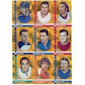 2011/12 ITG Captain-C Gold Complete 100 Card Set