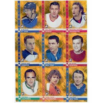 2011/12 ITG Captain-C Gold Complete 100 Card Set