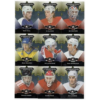 2013-14 ITG Decades 1990s Gold Complete 200 Card Set