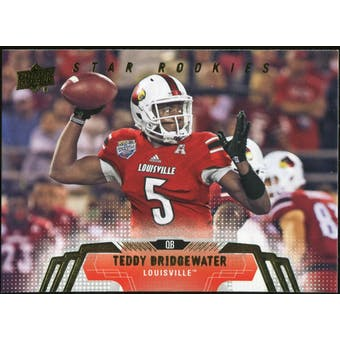 2014 Upper Deck #252 Teddy Bridgewater SP RC