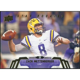 2014 Upper Deck #257 Zach Mettenberger SP RC