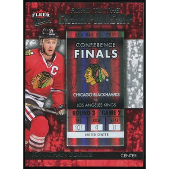 2014/15 Ultra Road to the Championship #RTCCBJT8 Jonathan Toews/Round 3 (5/21/14)