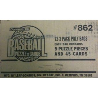 1986 Donruss Baseball Rack Case