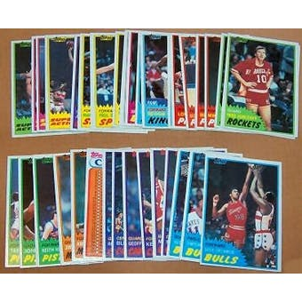 1981/82 Topps Basketball Complete Set (NM-MT)