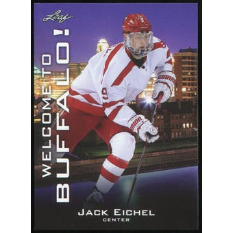 2015/16 Leaf Welcome to Buffalo! #WTB-JE1 Jack Eichel RC - 1st Licensed Card!