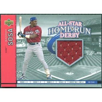 2002 Upper Deck All-Star Home Run Derby Game Jersey #ASSS1 Sammy Sosa
