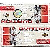2002 Upper Deck Ovation Baseball Hobby Box (Reed Buy)
