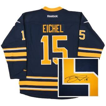 Jack Eichel #15 Autographed Buffalo Sabres XL Blue Hockey Jersey