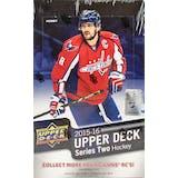 2015/16 Upper Deck Series 2 Hockey Hobby Box