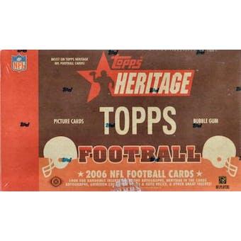 2006 Topps Heritage Football Hobby Box