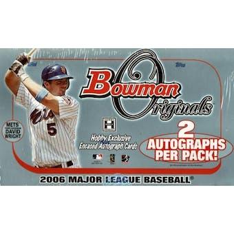 2006 Bowman Originals Baseball Hobby Box