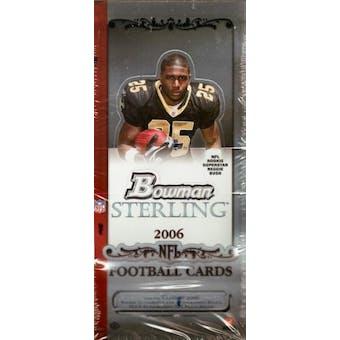 2006 Bowman Sterling Football Hobby Box