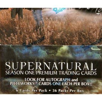 Supernatural Season 1 Hobby Box (2006 Inkworks)