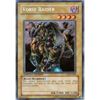 Yu-Gi-Oh Limited Edition Tin Single Vorse Raider Secret Rare (CT2-EN003)