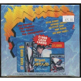 1995 Signature Rookies Auto-Phonex Hockey Hobby Box
