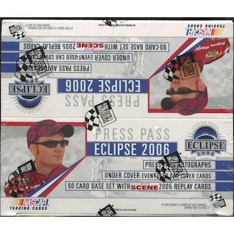 2006 Press Pass Eclipse Racing Retail Box