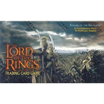 Decipher Lord of the Rings Realm of the Elf-Lords Booster Box