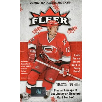 2006/07 Fleer Hockey Hobby Box (UD)