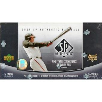 2006 Upper Deck SP Authentic Baseball Hobby Box