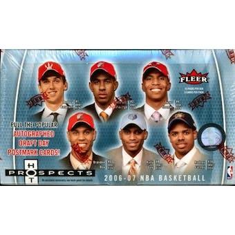 2006/07 Fleer Hot Prospects Basketball Hobby Box