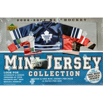 2006/07 Upper Deck Mini Jersey Collection Hockey Hobby Box