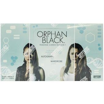 Orphan Black Season One Trading Cards Box (Cryptozoic 2016)